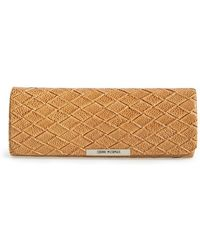 Corinne Mccormack - Oval Reading Glasses Case - Taupe - Lyst