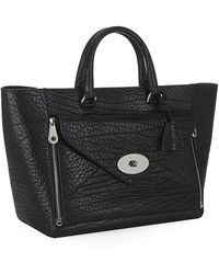 Mulberry | Shrunken Calf Willow Tote | Lyst