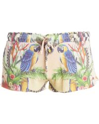 Wildfox Crazy Town Shorts multicolor - Lyst