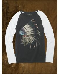 Denim & Supply Ralph Lauren Graphic Baseball Tee - Lyst