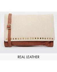 Urbancode - Leather Clutch Bag - Lyst