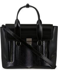 3.1 Phillip Lim The Pashli Medium Leather Trapeze Bag - Lyst