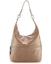 Hobo Jude Glossy Tumbled Leather Bag - Lyst