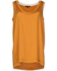 Gucci Orange Top - Lyst