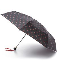 Marc By Marc Jacobs - Double Cherry Umbrella - Black Multi - Lyst