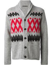 Dondup Knit Cardigan - Lyst