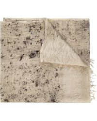 Dosa - Speckled Print Scarf - Lyst