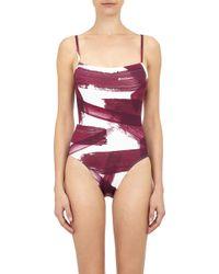Eres Aquarelle One-Piece Swimsuit - Lyst
