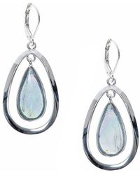 Anne Klein - Teardrop Earrings - Lyst