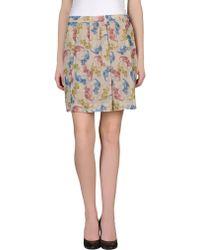 Clements Ribeiro - Mini Skirt - Lyst