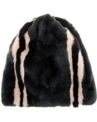 Marni Rabbit and Mink Fur Hat - Lyst