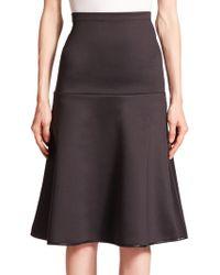 Clover Canyon   Neoprene Skirt   Lyst