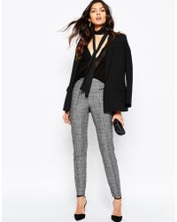 Mango - Heritage Check Tailored Trouser - Lyst