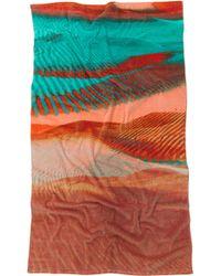 Natori Copia Beach Towel multicolor - Lyst