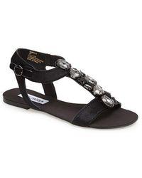 Steve Madden Habtat Jeweled Sandals - Lyst