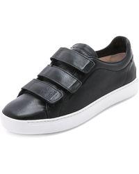 Rag & Bone Kent Low Sneakers - Black - Lyst