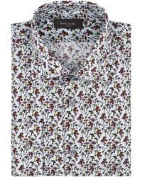 Paul Smith Mushroom Slim Fit Soho Shirt - Lyst