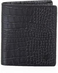 Mulberry Croc Print Mini Tri Fold Wallet - Lyst