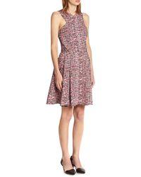 Proenza Schouler Silk Shibori Print Dress - Lyst