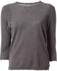 Faliero Sarti 'monica' Sweater - Gray