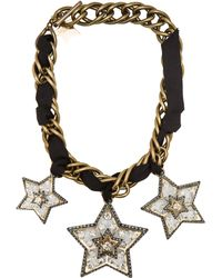 Lanvin Altair Star Necklace - Lyst