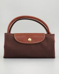 Longchamp Le Pliage Large Tote Bag Chocolate - Lyst