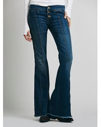 Free People Willow Seam Flare - Lyst