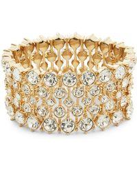 ABS By Allen Schwartz Headlight Stone Stretch Bracelet