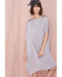 Nasty Gal Cheap Monday Sky Dress Gray - Lyst