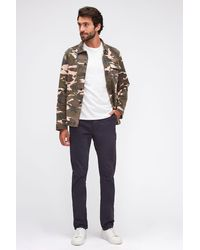7 For All Mankind Slimmy Chino Tapered Weightless Colours Navy - Blue