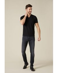 7 For All Mankind Ronnie Luxe Vintage Victory Black
