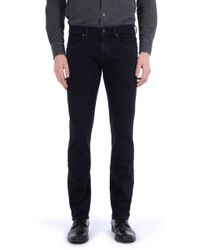 7 For All Mankind - The Straight Luxe Performance Soho Deep Blue - Lyst