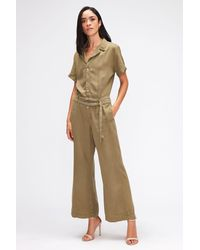 7 For All Mankind Romi Jumpsuit Colour L Aloe - Green