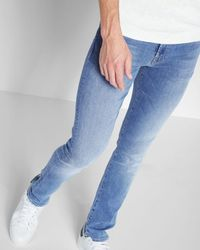 7 For All Mankind - Airweft Denim The Paxtyn Skinny In Amalfi Coast - Lyst