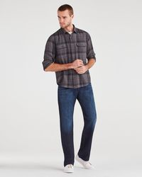 7 For All Mankind Austyn Relaxed Straight In Los Angeles Dark - Blue