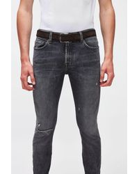 7 For All Mankind Classic Belt Suede Brown - Multicolour