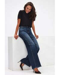 7 For All Mankind Lotta Luxe Vintage Powertrip - Blue