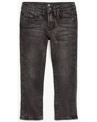 7 For All Mankind - Boy's 4-7 Slimmy In Black - Lyst