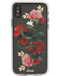 7 For All Mankind Snake Heart Iphone Case In Multi - Multicolor