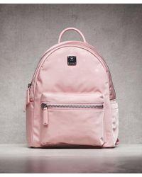 MCM - Dieter Monogrammed Nylon Backpack - Lyst