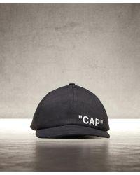 Off-White c/o Virgil Abloh - Quote Baseball Cap - Lyst