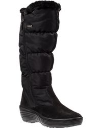 Pajar Amanda Snow Boot Black Fabric - Lyst