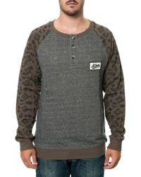 Wesc The Henley Sweatshirt - Lyst