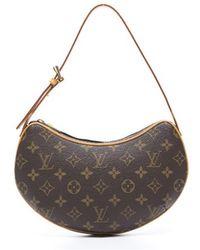 Louis Vuitton Preowned Monogram Canvas Pochette Croissant Bag - Lyst