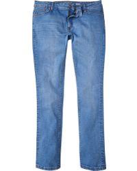 River Island Light Blue Sid Skinny Stretch Jeans - Lyst