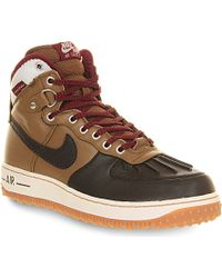 Nike Air Force One Duck Boots - For Men - Lyst