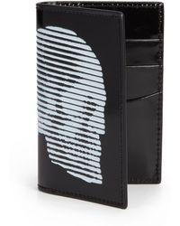 Alexander McQueen Pocket Organizer black - Lyst