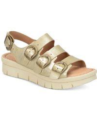 Born - Azores Flatform Sandals - Lyst