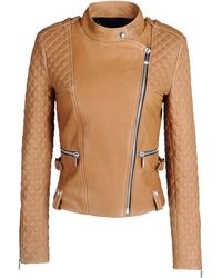Barbara Bui Leather Outerwear - Lyst
