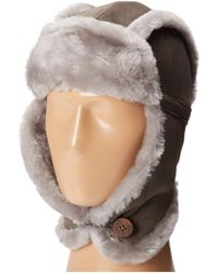 Ugg Classic Bailey Aviator Hat - Lyst